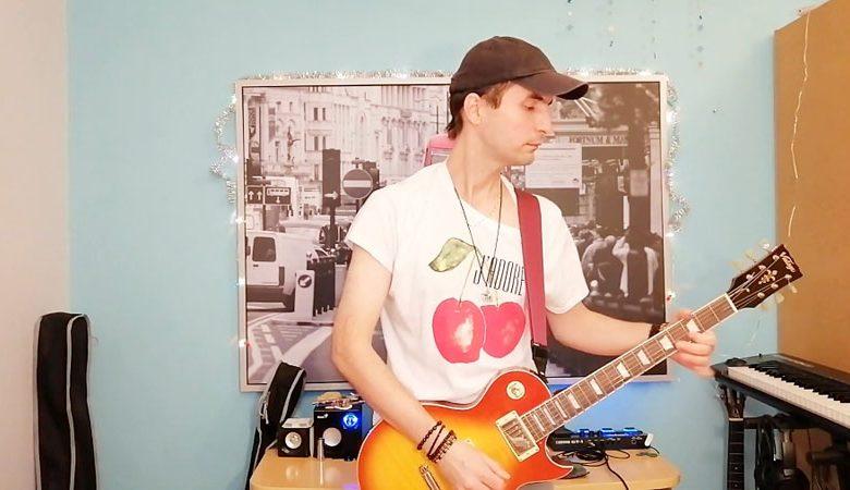 آهنگ برادر لویی- اجرا با گیتار الکتریک